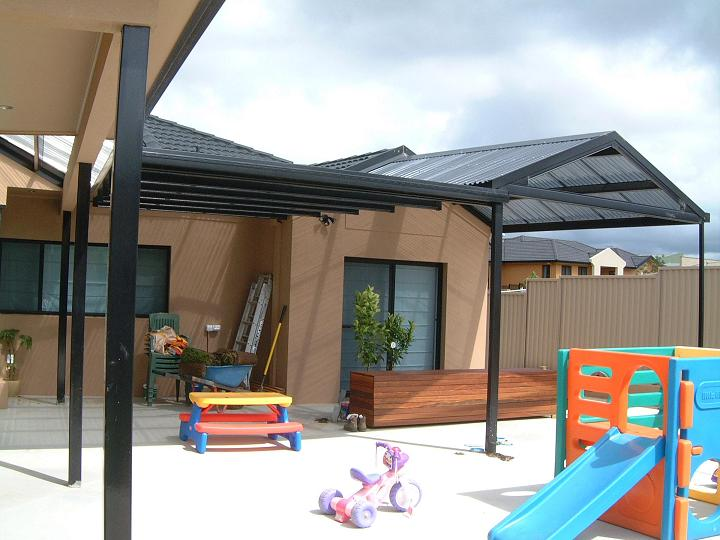 Canberra Patio - Flat Gable Flat - Laserlite B1