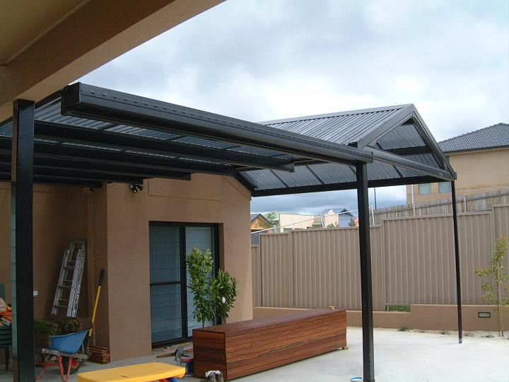Canberra Patio - Flat Gable Flat - Laserlite B2